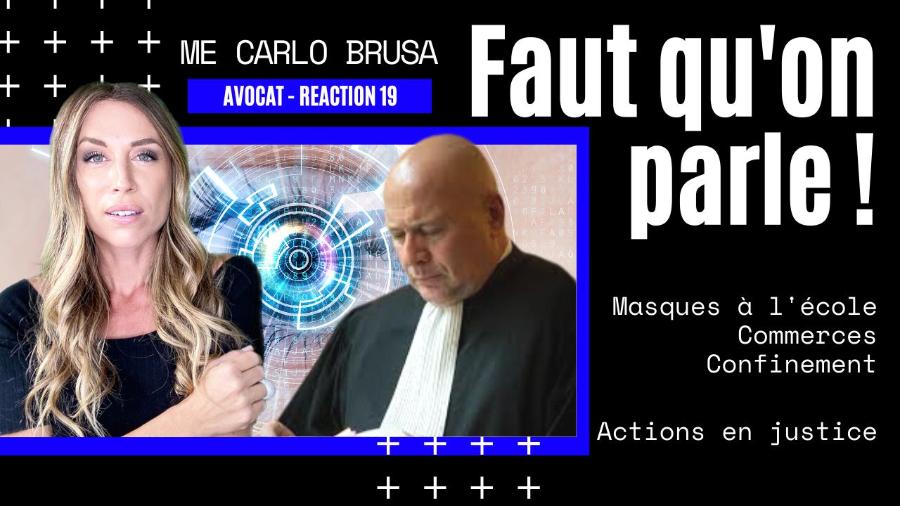 Actions en justice – Me Carlo Alberto Brusa (03.11.2020)