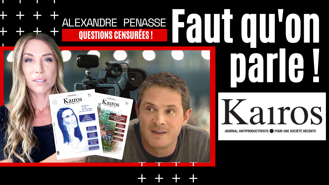 La censure en Belgique – Alexandre Penasse – Kairos (11.01.2021)