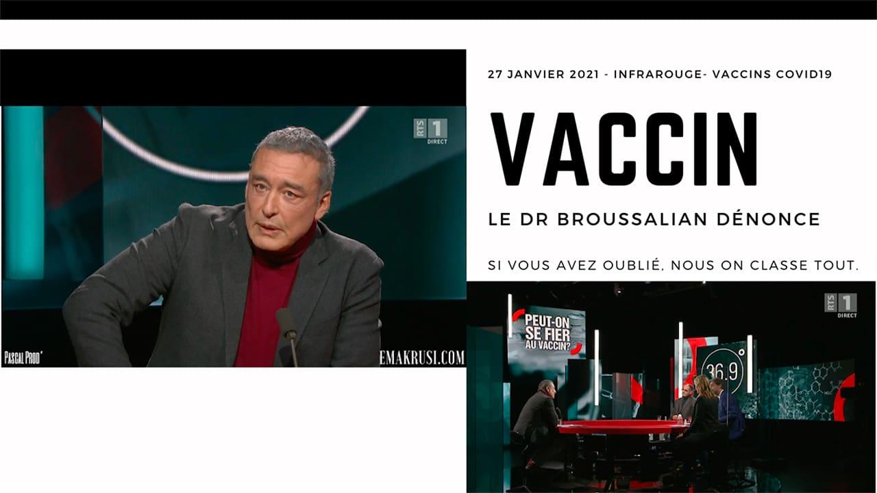 #26 – [31.01.2021] – RTS Infrarouge – Dr Edouard Broussalian